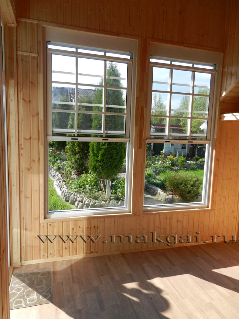 Вертикально сдвижные окна макгай, в санкт-петербурге америка.
